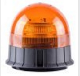 GYROPHARE / FEU A ECLATS  ORANGE 12/24V LEDS