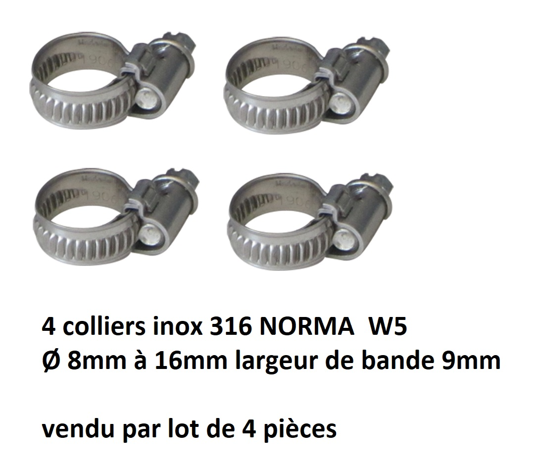 4 colliers