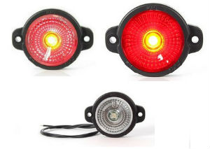 PAIRE DE FEUX A LEDS DE POSITION / GABARIT Ø 46mm