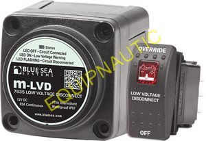 SAUVE BATTERIE BLUE SEA M-LVD 7635