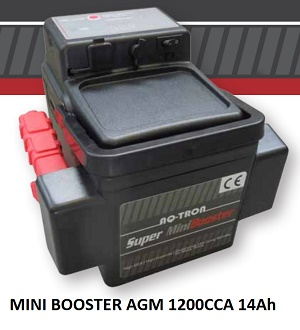 MINI BOOSTER AGM 1200A CCA  14Ah